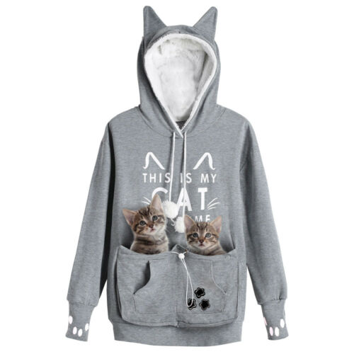 UK Känguru Katze Beutel Haustier Hund Tasche Kapuzenpullover Mewgaroo Nyangaroo
