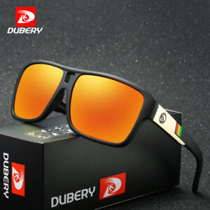 DUBERY Men's Polarized Sunglasses Outdoor Sports SunGlasses Dragon Glasses