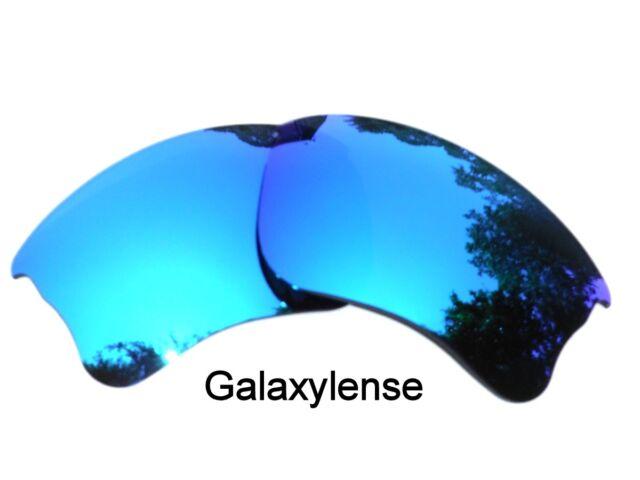 5983372084 Galaxy Replacement Lens For Oakley Flak Jacket XLJ Sunglasses Ice Blue  Polarized