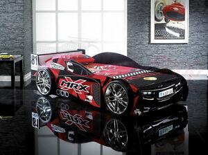 mrx black super car bed boys children kids 3 0 single memory