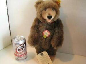 Vintage-Steiff-Teddy-Baby-11-034-Replica-w-All-Tags-and-Button
