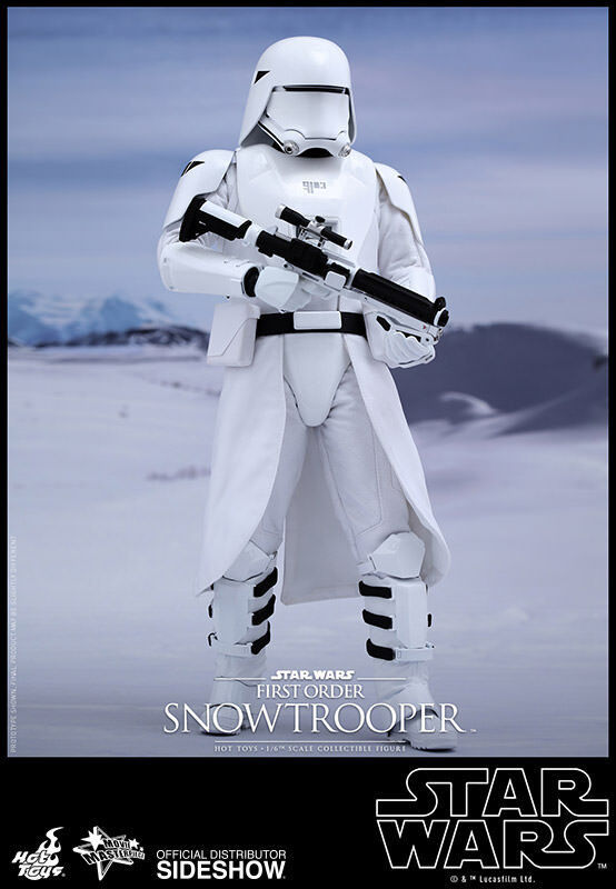 Caliente giocattoli estrella guerras primero Order Snowtrooper cifra 1  6 Scala MMS321 ESB  salutare