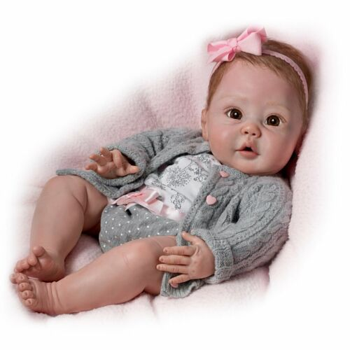 Ashton-Drake Cuddly Coo Baby Doll That Actually Coos Interactive Realistic NEW