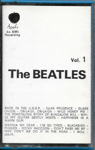 "THE BEATLES MC MUSICASSETTA ""THE BEATLES VOL.1"" APPLE 3C 262 04173 ITALY RARA - Italia - THE BEATLES MC MUSICASSETTA ""THE BEATLES VOL.1"" APPLE 3C 262 04173 ITALY RARA - Italia"