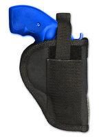 Barsony Revolver Gun Belt Clip Holster For Ruger 22 38 357 Snub Nose 2 Barrel
