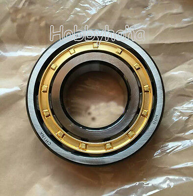 NEW 1pcs  NU207 Cylindrical Roller Wheel Bearing  35×72×17mm