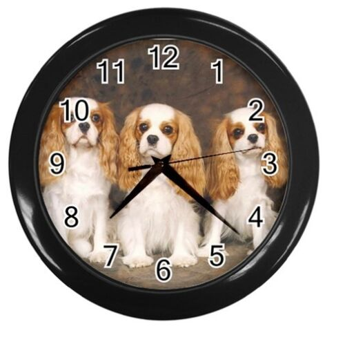 NEW CAVALIER KING CHARLES SPANIEL 10 inch WALL CLOCK HOME OFFICE DECOR 89226905