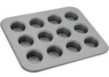 Non-Stick Bakeware 12 Cup Mini Muffin Tin 25.5x20.5x2cm Dishwasher Safe Judge