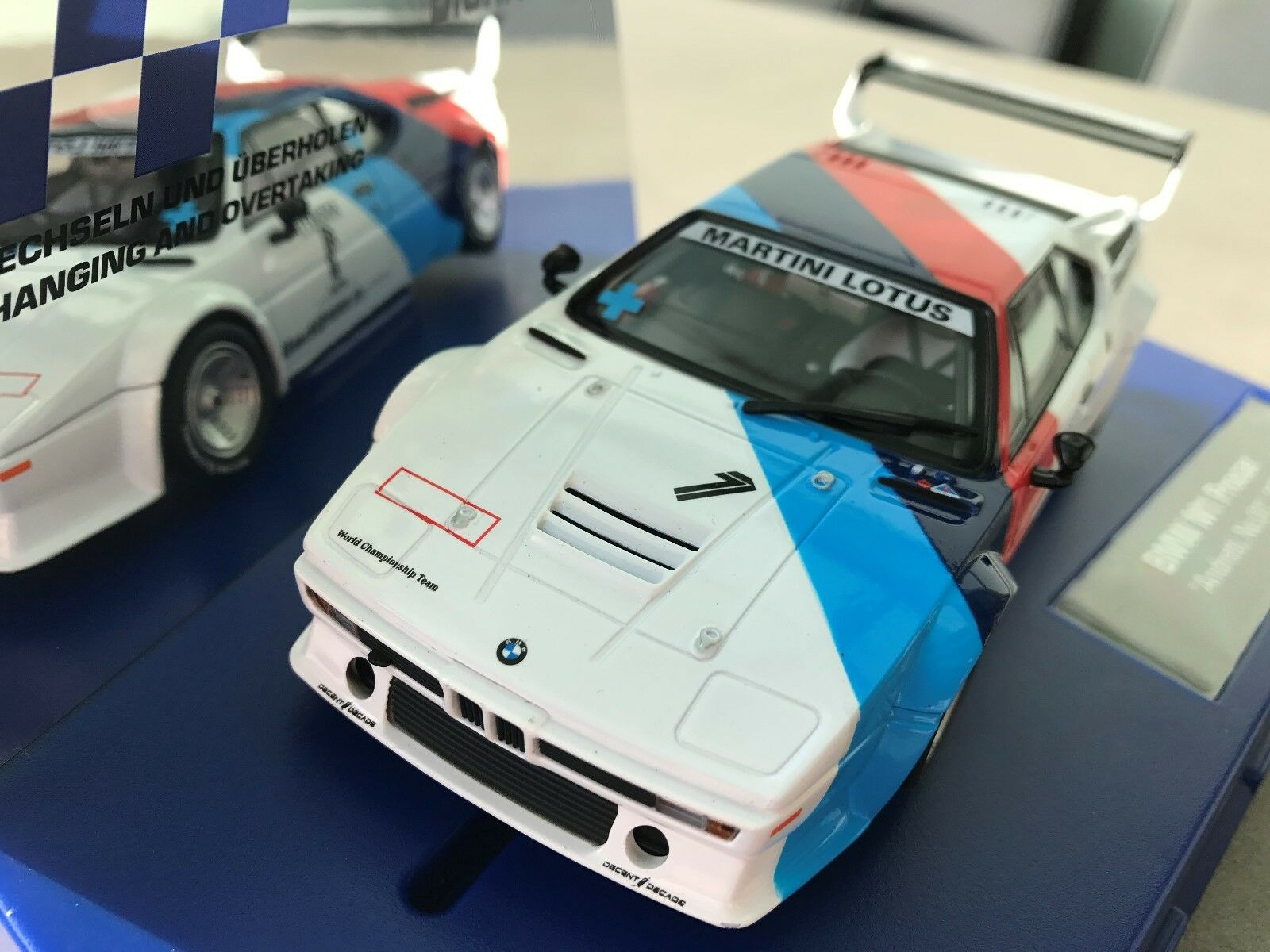 Carrera Digital 132 30814 BMW M1 Procar   Andretti, No.01  , 1979 Nip