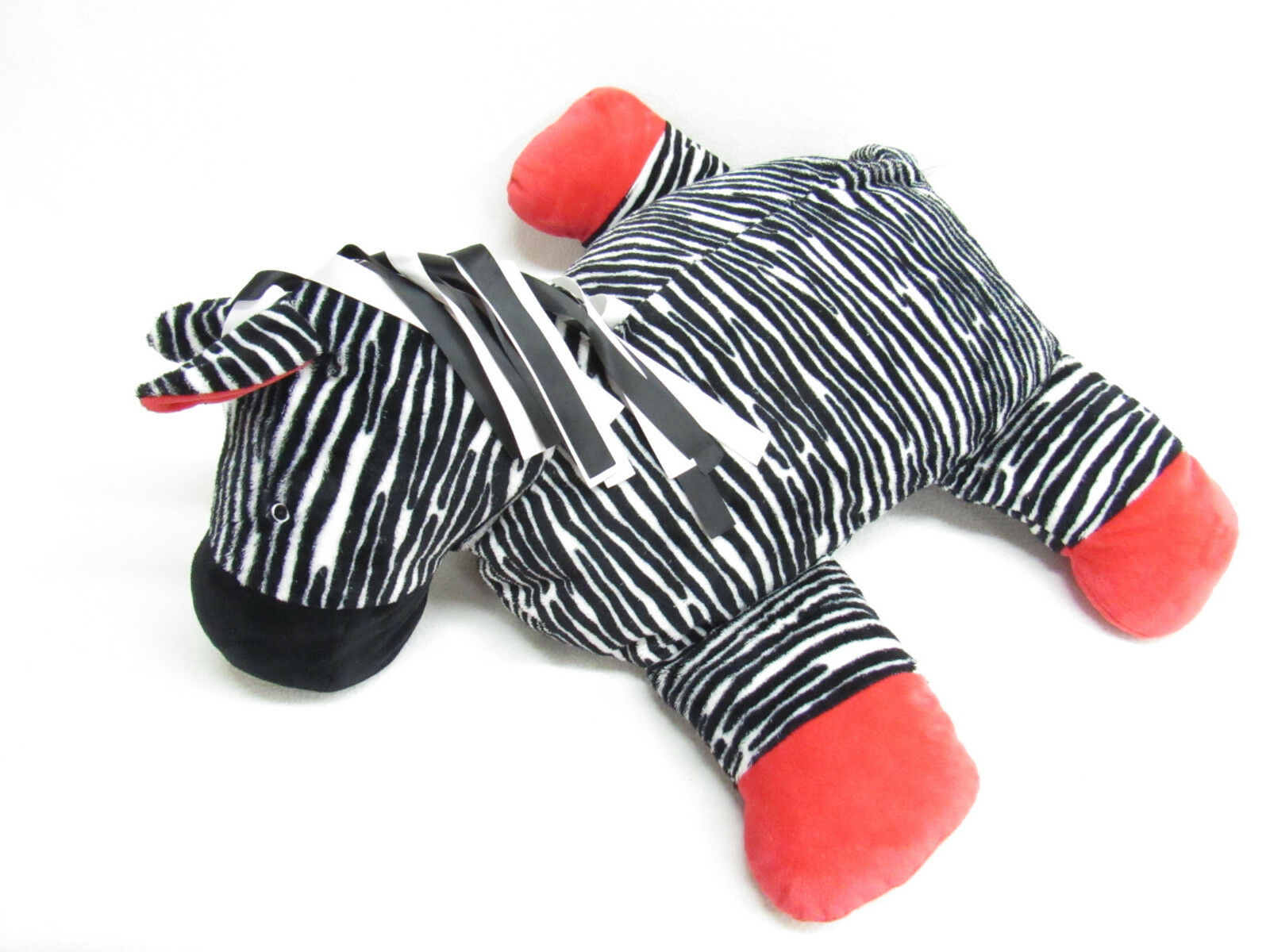 NORTH AMERICAN orso CO ZEBRA PILLOW RIBBONS rosso rosso rosso 98cd32