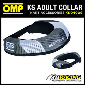 KK04009 OMP KART NECK SUPPORT COLLAR WATERPROOF in ADULT & CHILDREN SIZES