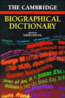 The Cambridge Biographical Dictionary by Cambridge University Press (Paperback, 1996)