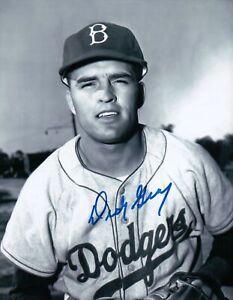 Dick-Gray-Signed-8X10-Photo-Autograph-LA-Dodgers-Head-Shot-Auto-w-COA