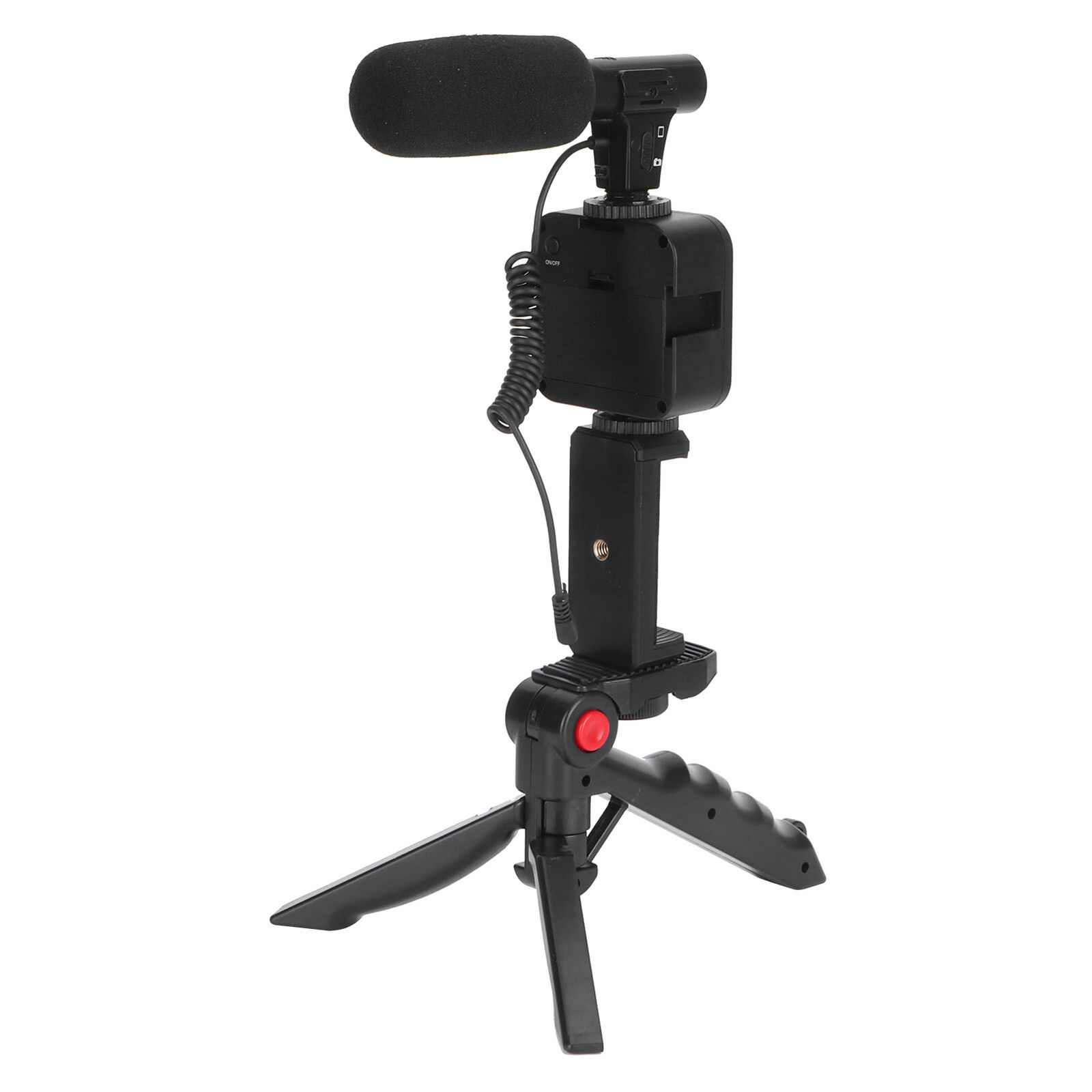 Cellphone Support Microphone Fill Light Tripod Kits For Live Broadcast Shooting