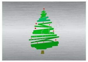 Christmas Tree stencil A5 A4 A3 A2 A1 A0 14cm to 1.2 meters or bigger CMAS009