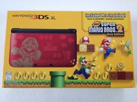 Nintendo 3ds Xl Super Mario Bros 2 Limited Edtion Gold Red Console Mint