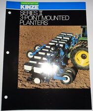 Kinze Series Ii 3 Point Mounted Planter Sales Brochure Literature 2 Thru 12 Row