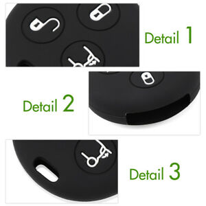 3-Button-Silicone-Car-Key-Case-Cover-Fits-for-Benz-Smart-City-Roadster-Fortwo-HQ