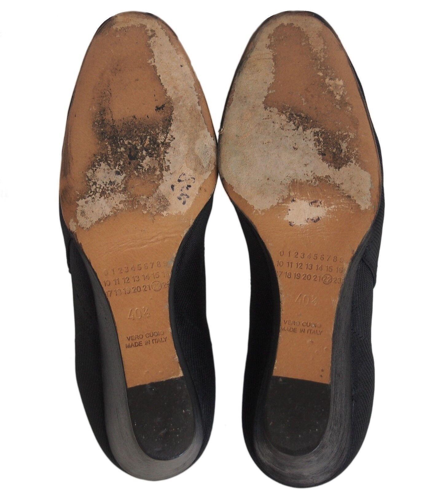 Maison Martin Margiela Women's Wedge Shoes Black … - image 8