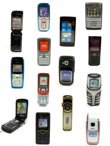 5 Smartphone & Handy Dummys NOKIA Samsung SONY Spielzeug Handy-Attrappe NEU OVP