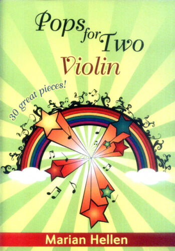 Pops for Two 30 Great Pieces Film TV Pop Songs für Violine Geige Violin Noten