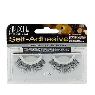 1 Ardell Self-Adhesive Lashes / Black Fake False Eyelashes - #105S
