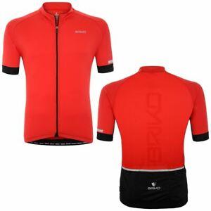 Briko-T-shirt-sportiva-CLASSIC-SIDE-JERSEY-Uomo-Ciclismo-sport-Camicia