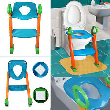 3 in 1 Baby Potty Training Toilet Chair Seat Step Anti-slip Pads Stool Sturdy  sc 1 st  eBay & Kids Potty Training Seat With Step Stool Ladder for Child Toddler ... islam-shia.org