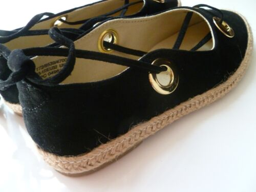 Marks /& Spencer Girls Black Espadrilles UK13