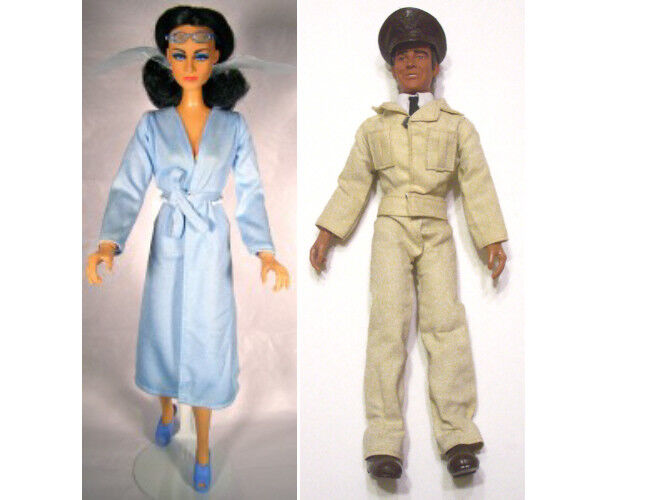 1976 WONDER WOMAN STEVE TREVOR 12  mego doll -- DRESS SHIRT PANTS scarpe
