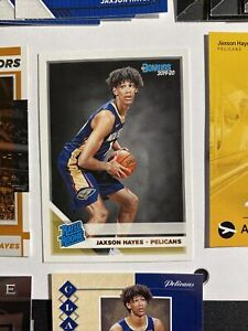 Lot-Of-17-JAXSON-HAYES-2019-20-DONRUSS-RATED-ROOKIE-CARD-207