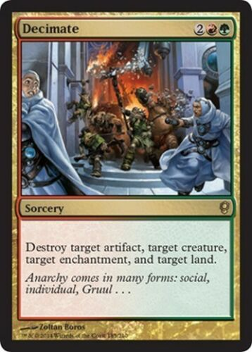 Decimate MTG MAGIC CNS Conspiracy English Decimare