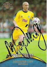 A Topps card Matt Elliott at Leicester City. Personally signed by him. (1)