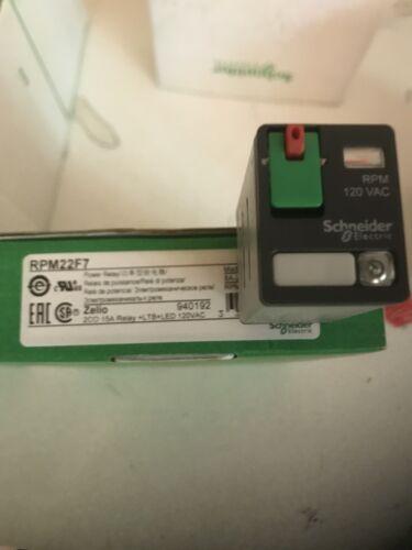 RPM22F7 SCHEIDER   AUTHENTIC PLUG IN RELAY