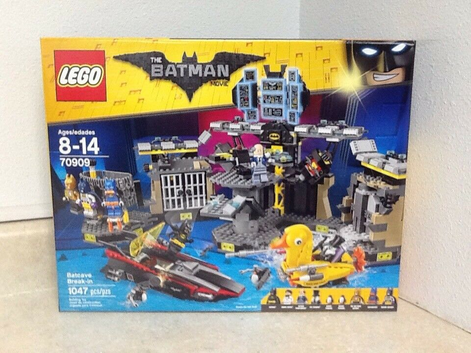 Lego The Batman Movie The Batcave Break In 70909 With 9 Minifigs