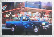 1991 Dodge TRUCKs Brochure w/ DAKOTA Poster: RAM,50,PickUp,RAMCHARGER,150,250,