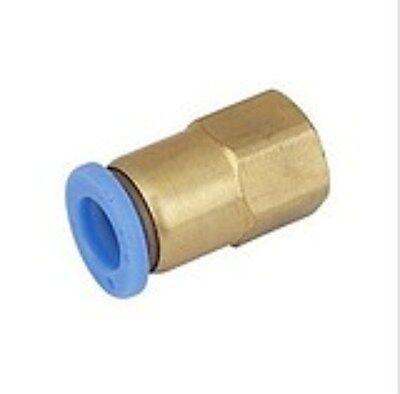 Pneumatik Kupplung Nippel 3//8 auf 8 mm  Schlauch  ETPCF3//8-8