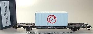 2 Essieux Wagon Transport De Conteneurs Lgnss001 Cp Cargo Emef Container Ep4