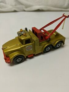 Matchbox-Super-Kings-Scammel-Heavy-Wreck-Truck-K2-Esso-Gold-1969-Made-in-England