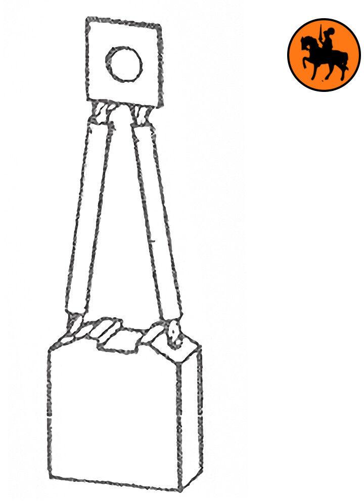 Ensemble de 4 balais  de charbon TOYOTA  balais 8x20x22,5mm c0a3ad