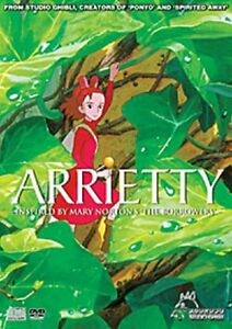 the borrower arrietty dvd marry norton studio ghibli movie english