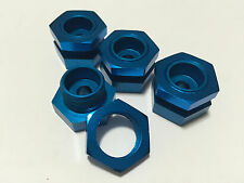 HD Aluminum Wheel Adapter 23mm Hex for Traxxas Revo E-Maxx / T-Maxx 2.5 3.3 Blue