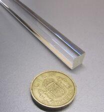 "Clear .625/"" 5//8/"" Dia x 6/' Length 5 Units Acrylic Extruded Round Rod"