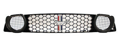 2013-2014  Ford Racing Mustang Boss 302S GT Grille w/ Tribar Pony Emblem