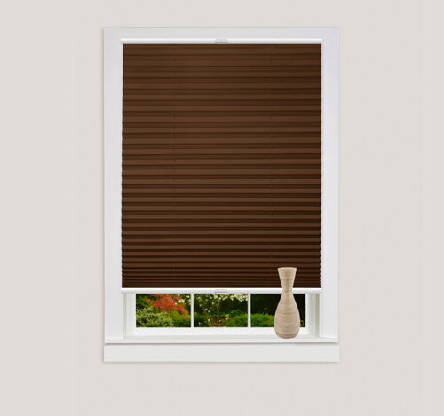 Klemmfix Pleated-Blind without drilling Privacy Blinds Window /& Door Folding Blind