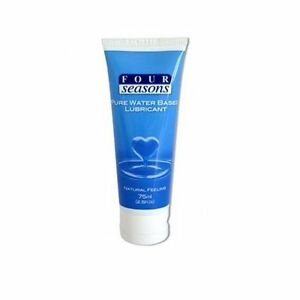 FOUR-SEASONS-PURE-WATER-BASED-LUBRICANT-Natural-Feeling-Lube-75mL-FREE-POST