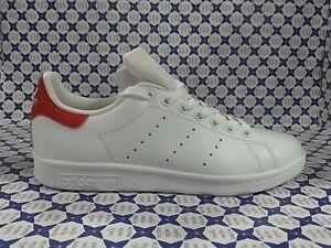 Détails sur Chaussures Adidas Stan Smith BlancRouge Baskets M20326 214