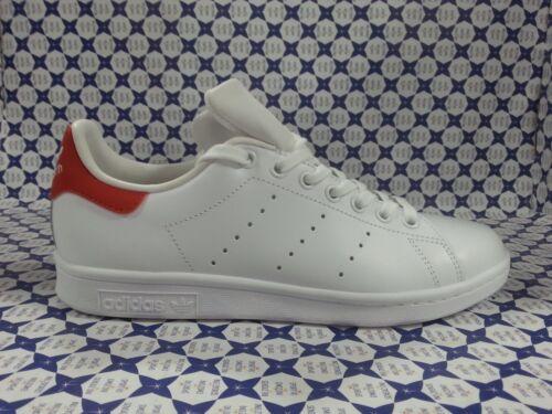 214 Smith Blanco Stan Zapatillas rojo Zapatos Adidas M20326 0qzWF6