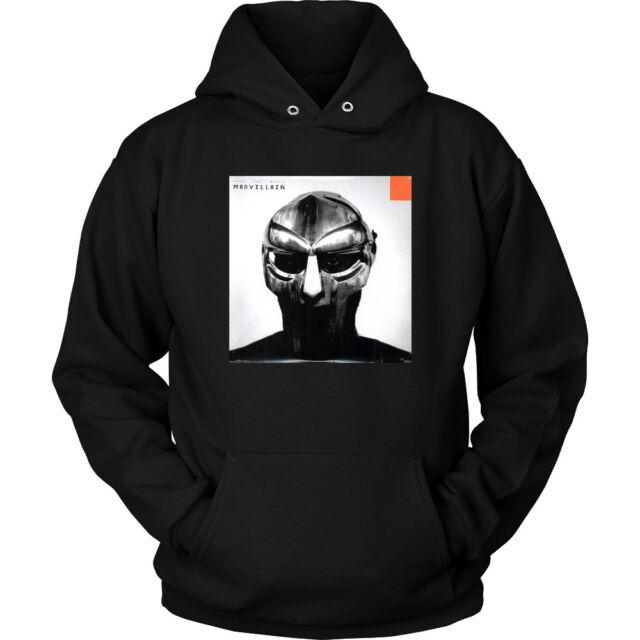 Madvillain Madvillainy Hoodie Hip Hop Sweatshirt Jumper Vintage Rap MF Doom New