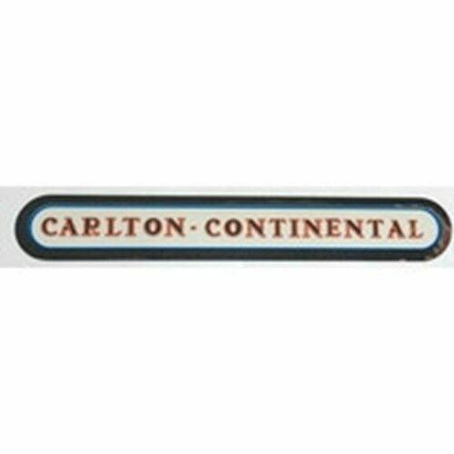 """CARLTON /""""imichrome/"""" top tube decal /""""Carlton Continental/"""""""